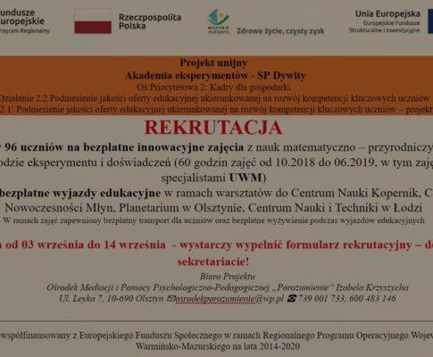Projekt Akademia Eksperymentów