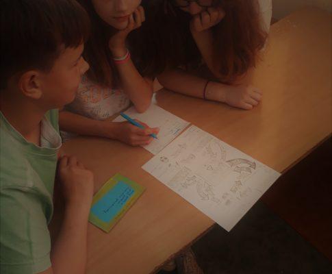 Matematyczna gra fabularna – projekt klasy 8a