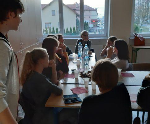 Spotkanie absolwentów gimnazjum
